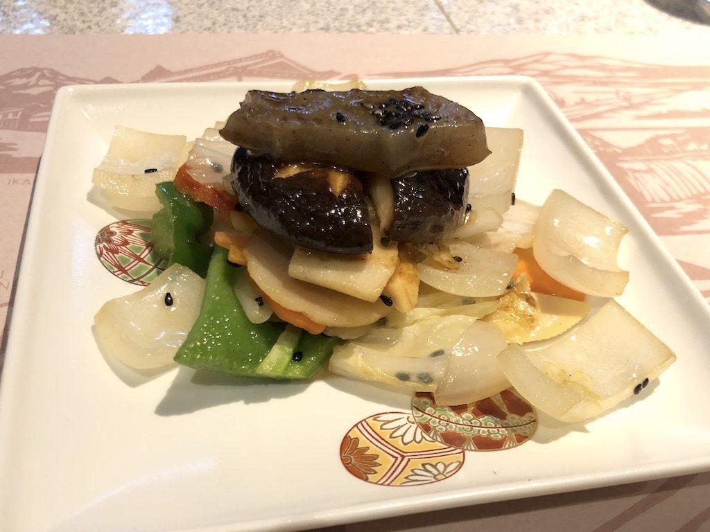 国産牛フィレランチ 野菜のソテー